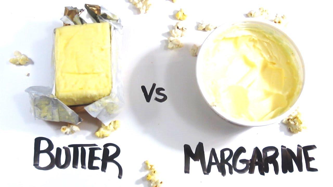 máslo vs. margaríny