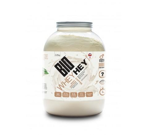 Bio Synergy WHEY HEY® - BRAZILIAN COFFEE PROTEIN POWDER - 2.25KG