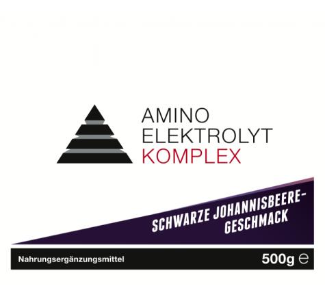 YPSI Amino Elektrolyt Komplex černý rybíz - 500g